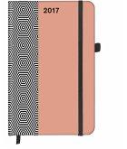 SoftTouch Diary Hexagon 2017, klein