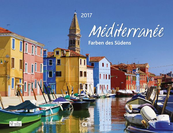 Mediterrane farben des südens