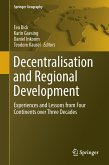Decentralisation and Regional Development