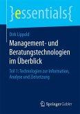 Management- und Beratungstechnologien im Überblick