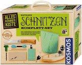 KOSMOS Alleskönner-Kiste Schnitzen Komplett-Set