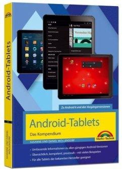 Android Tablets - Das Kompendium Handbuch - für Android 7 Nougat & Vorgängerversionen - Möllendorf, Susanne; Möllendorf, Daniel