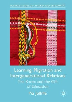 Learning, Migration and Intergenerational Relations - Jolliffe, Pia