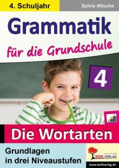 Grammatik für die Grundschule / Klasse 4