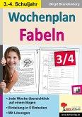 Wochenplan Fabeln / Klasse 3-4