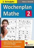 Wochenplan Mathe / Klasse 2