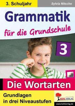 Grammatik für die Grundschule / Klasse 3