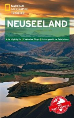 National Geographic Traveler Neuseeland mit Maxi-Faltkarte - Turner, Peter