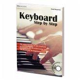 Keyboard Step by Step, m. Audio-CD