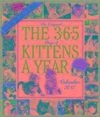 The 365 Kittens-A-Year Wall Calendar 2017