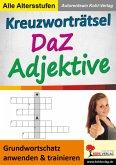 Kreuzworträtsel DaZ - Adjektive