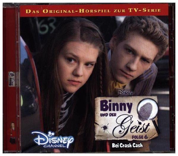 Bei Crash Cash Binny Und Der Geist Bd6 Audio Cd Hörbücher