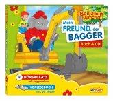 Benjamin Blümchen - Mein Freund der Bagger, 1 Audio-CD + Buch