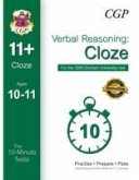 10-Minute Tests for 11+ Verbal Reasoning: Cloze (Ages 10-11) - CEM Test