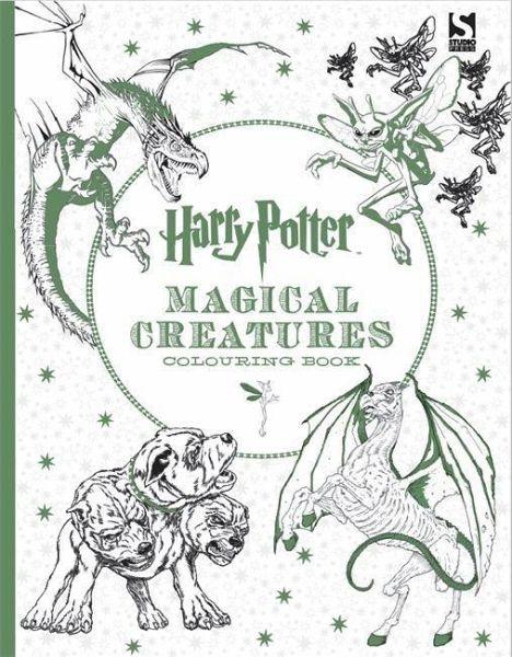 Harry Potter Magical Creatures Colouring Book portofrei bei bücher ...