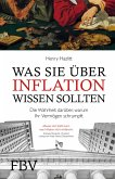 Was Sie über Inflation wissen sollten (eBook, PDF)