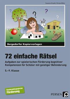 72 einfache Rätsel - Krauth, Susanne; Miller, Christa