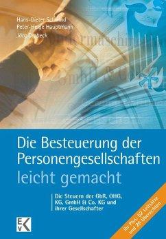 Die Besteuerung der Personengesellschaften - leicht gemacht - Drobeck, Jörg
