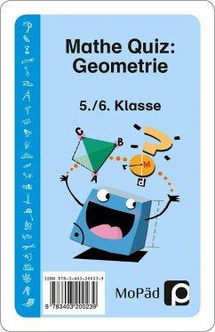 Mathe-Quiz: Geometrie - Eggert, Jens