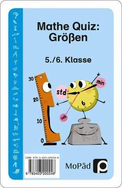 Mathe-Quiz: Größen - Eggert, Jens