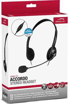 Speedlink ACCORDO Stereo Headset, black