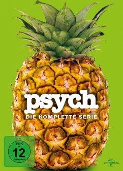 Psych - Die komplette Serie DVD-Box - James Roday,Dulé Hill,Timothy Omundson