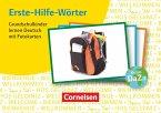 Erste-Hilfe-Wörter: Grundschulkinder lernen Deutsch mit Fotokarten