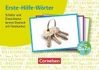 Erste-Hilfe-Wörter: Schüler und Erwachsene lernen Deutsch mit Fotokarten