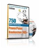 PowerPoint Baukasten 365+, Handgezeichnete Edition, 1 CD-ROM