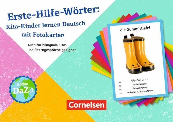 erste hilfe w rter kita kinder lernen deutsch mit fotokarten schulbuch. Black Bedroom Furniture Sets. Home Design Ideas