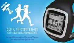 GPS Sportuhr mit Herzfrequenzmessung inkl. Brus...