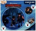 Dragons - Die Reiter von Berk - Starter-Box, 3 Audio-CDs