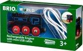 BRIO 33599 - Akku Lok, mit Mini USB