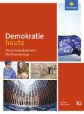 Demokratie heute 10. Schülerband. Sachsen