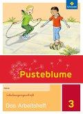 Pusteblume. Das Sprachbuch 3. Arbeitsheft. Berlin, Brandenburg, Mecklenburg-Vorpommern, Sachsen-Anhalt und Thüringen