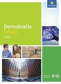 Demokratie heute 9 / 10. Schülerband. Nordrhein-Westfalen