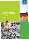 Demokratie heute 7 / 8. Schülerband. Nordrhein-Westfalen