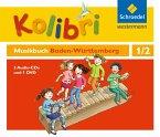 Kolibri - Das Musikbuch 1 / 2. Hörbeispiele 4 Audio-CDs + eine Tanz-DVD. Baden-Württemberg