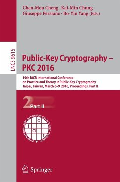 Public-Key Cryptography -- PKC 2016