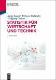 Statistik für Wirtschaft und Technik (eBook, ePUB)