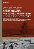 Deutschland, Russland, Komintern - Dokumente (1918-1943) (eBook, PDF)