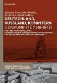 Deutschland, Russland, Komintern - Dokumente (1918-1943) (eBook, ePUB)