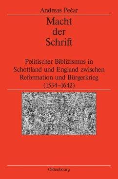 Macht der Schrift (eBook, PDF) - Pecar, Andreas