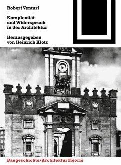 Komplexität und Widerspruch (eBook, PDF) - Venturi, Robert
