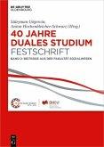 40 Jahre Duales Studium. Festschrift (eBook, PDF)