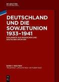 Deutschland und die Sowjetunion 1933-1941 Bd. 1 (eBook, PDF)