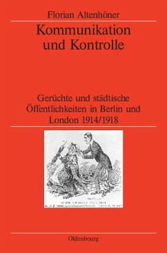 Kommunikation und Kontrolle (eBook, PDF) - Altenhöner, Florian