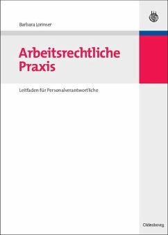 Arbeitsrechtliche Praxis (eBook, PDF) - Lorinser, Barbara