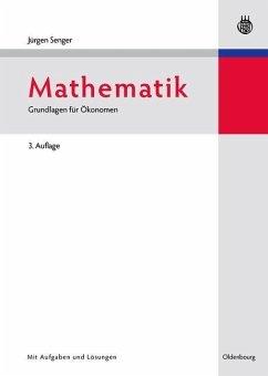Mathematik (eBook, PDF) - Senger, Jürgen