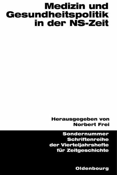 Medizin und gesundheitspolitik in der ns zeit ebook pdf